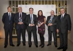 Los premiados en los IV Premios ADT Club Retail 2010