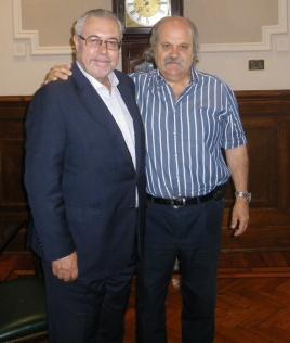 Manuel Sánchez y Alejandro Granados