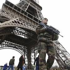 Vigilancia en París