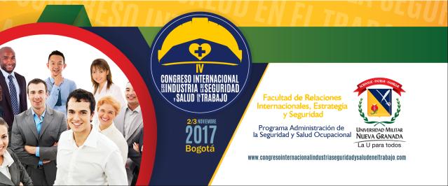 Manuel Sánchez ponente en el IV Congreso Internacional de la Industria de la Seguridad y Salud en el Trabajo, 2-3 de noviembre en Bogotá (Colombia)