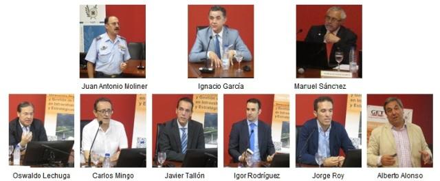 Ponentes del IV Seminario sobre Tecnologías aplicadas a la Protección IC