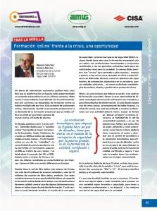 Cerrajería: la formación 'online' como oportunidad frente a la crisis, por Manuel Sánchez Gómez-Merelo